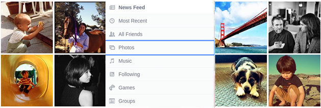 news feed categorias